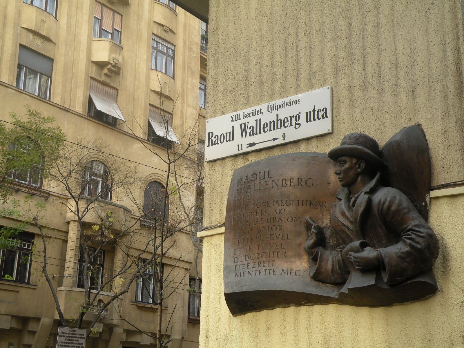 raoul wallenberg arrives in budapest hungary