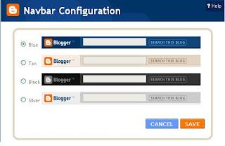 Navbar Configuration