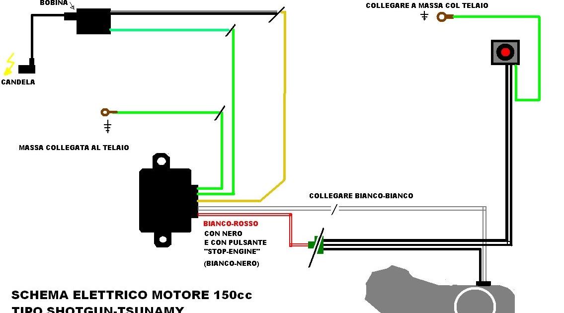 Schema Elettrico Pulsante : Black bull pit bike schema impianto elettrico per blocco xy
