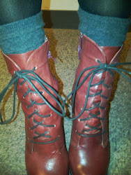 My New Red Boots, 20 Bucks