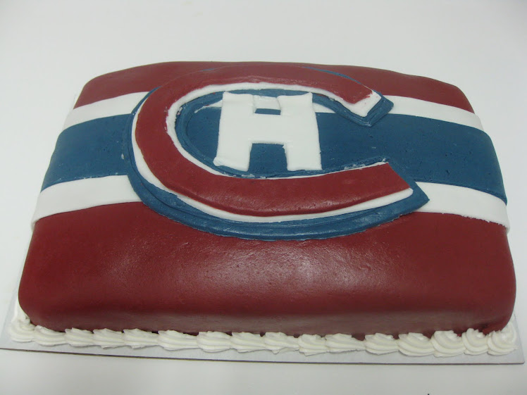 "The ""Habs"" cake!"