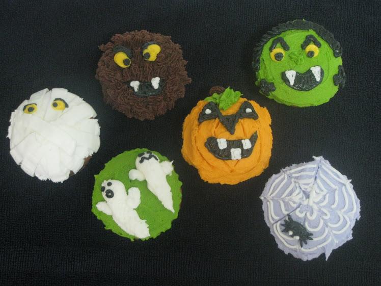 Hallowe'en Cupcakes!