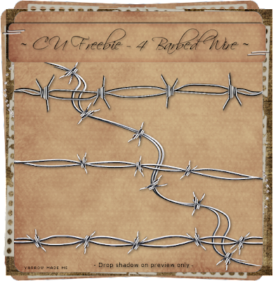 http://fall3nangelscrapz.blogspot.com/2009/08/cu-freebie-barbed-wire.html