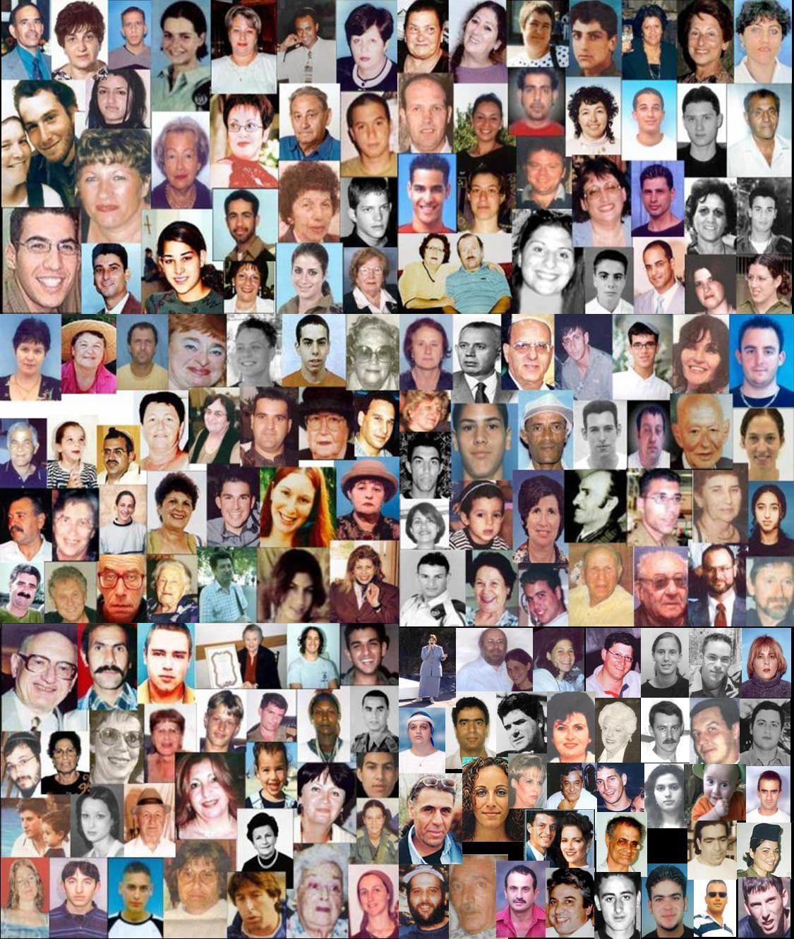 Víctimes israelianes del terrorisme palestí