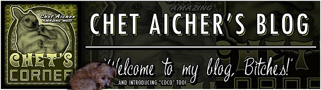 Chet's Corner-Chet Aicher, Wondermutt... and Coco too!