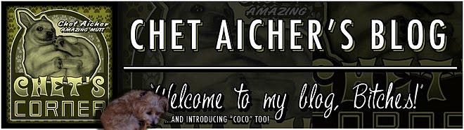 Chet's Corner-Chet Aicher, Wondermutt... and Coco too!