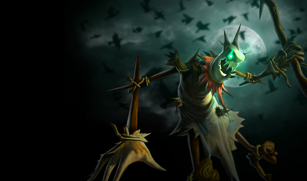 League of Legends Wallpaper: Fiddlesticks - The Harbinger ...