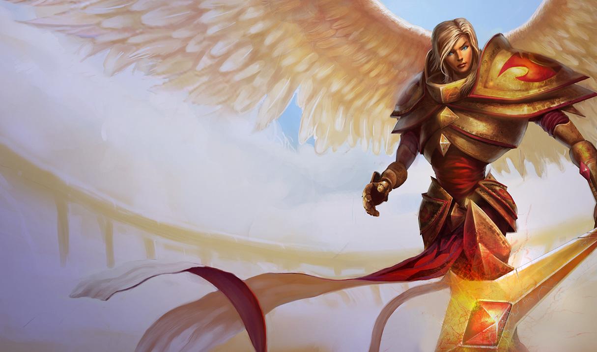 League of Legends Wallpaper: Kayle - The Judicator