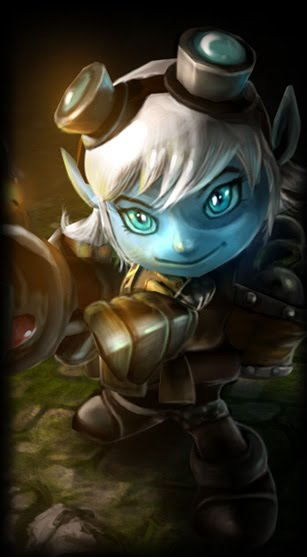 League of Legends Wallpaper: Tristana - The Megling Gunner