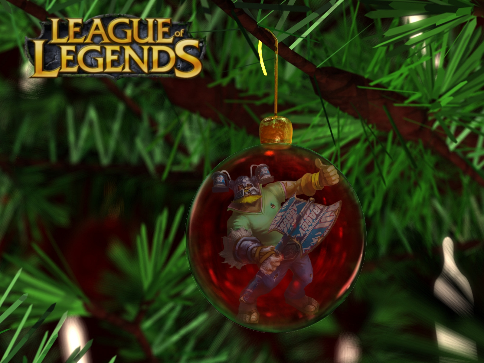 league of legends wallpaper  more christmas wallpapers