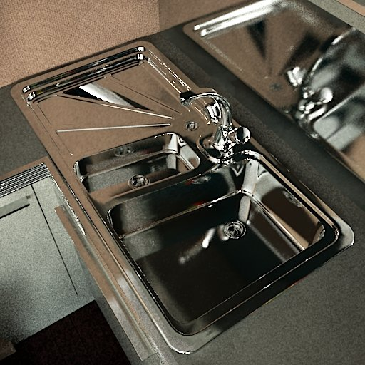Clean Metal Sink