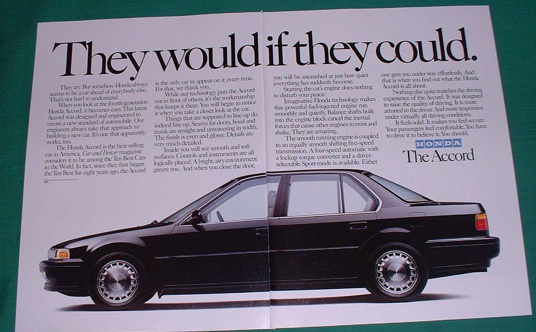 4th gen catalogs/literature  Honda+Accord+Ad+1991