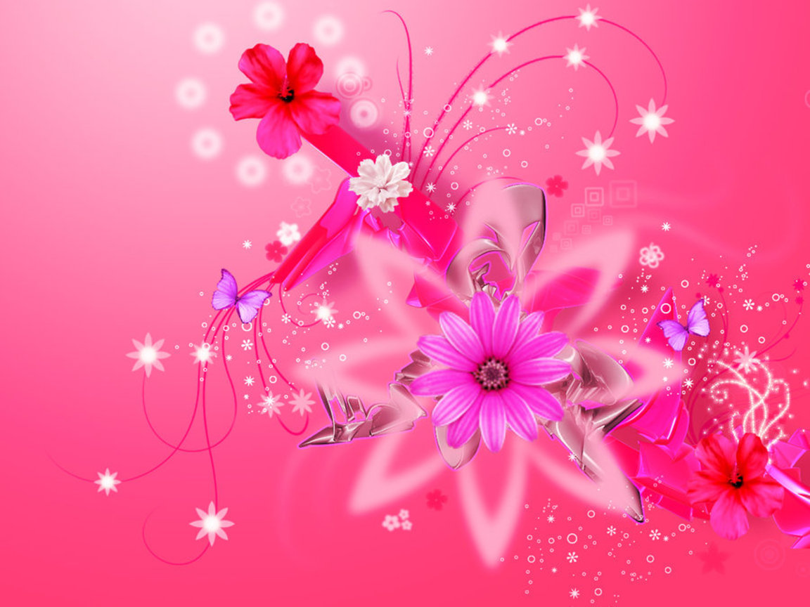 pink floral backgrounds pink hd wallpapers pink girly backgrounds for ...