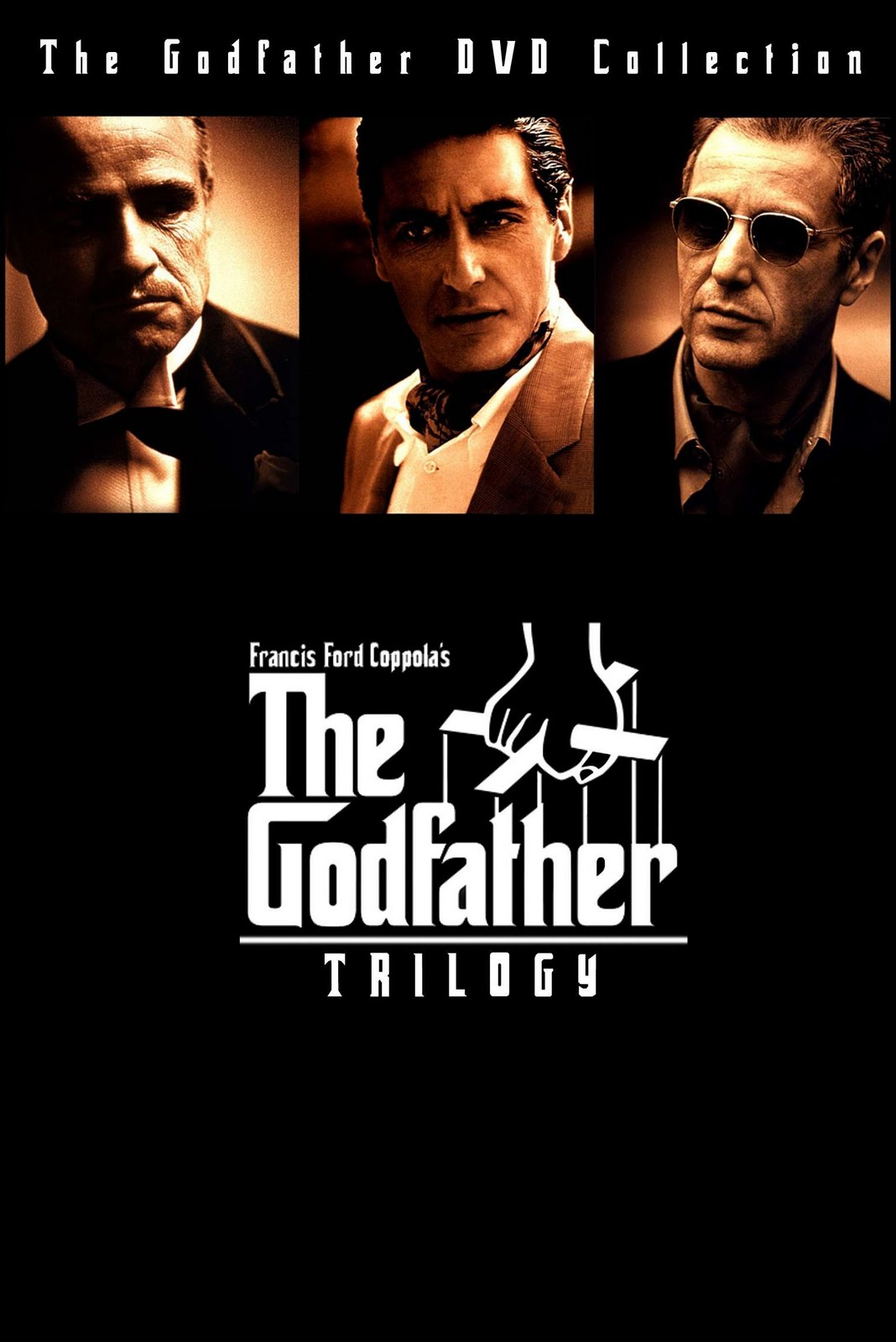the film godfather 1 and 2 Closing credits state that this film is based on the novel the godfather by mario puzo in fact, only the scenes showing the young vito have any basis in the novel everything dealing with michael corleone and his family in las vegas was created for the film, with the exception of the character deanna dunn.