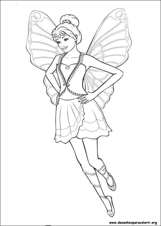 Barbie Fairytopia Coloring Pages Choice Image - coloring pages adult