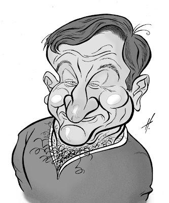 Robin Williams caricature