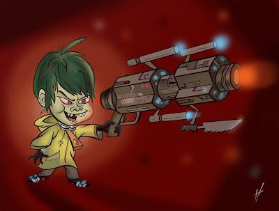 Gantz fanart Nishi