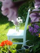 Puutarhassa