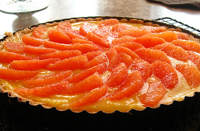 All That Splatters: Cara Cara Orange Tart