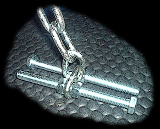 Homemadegymstuff: Loading Chain Bolt Assy