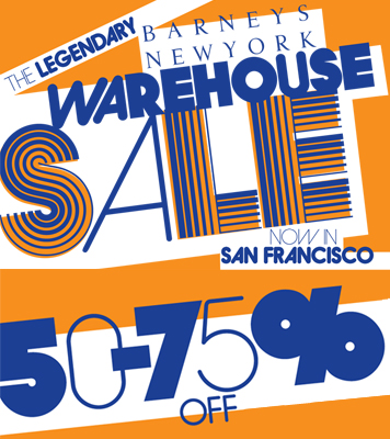 Barneys Warehouse Sale: August 2009