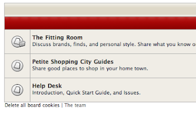 A Few Changes at the Alterations Needed Forum