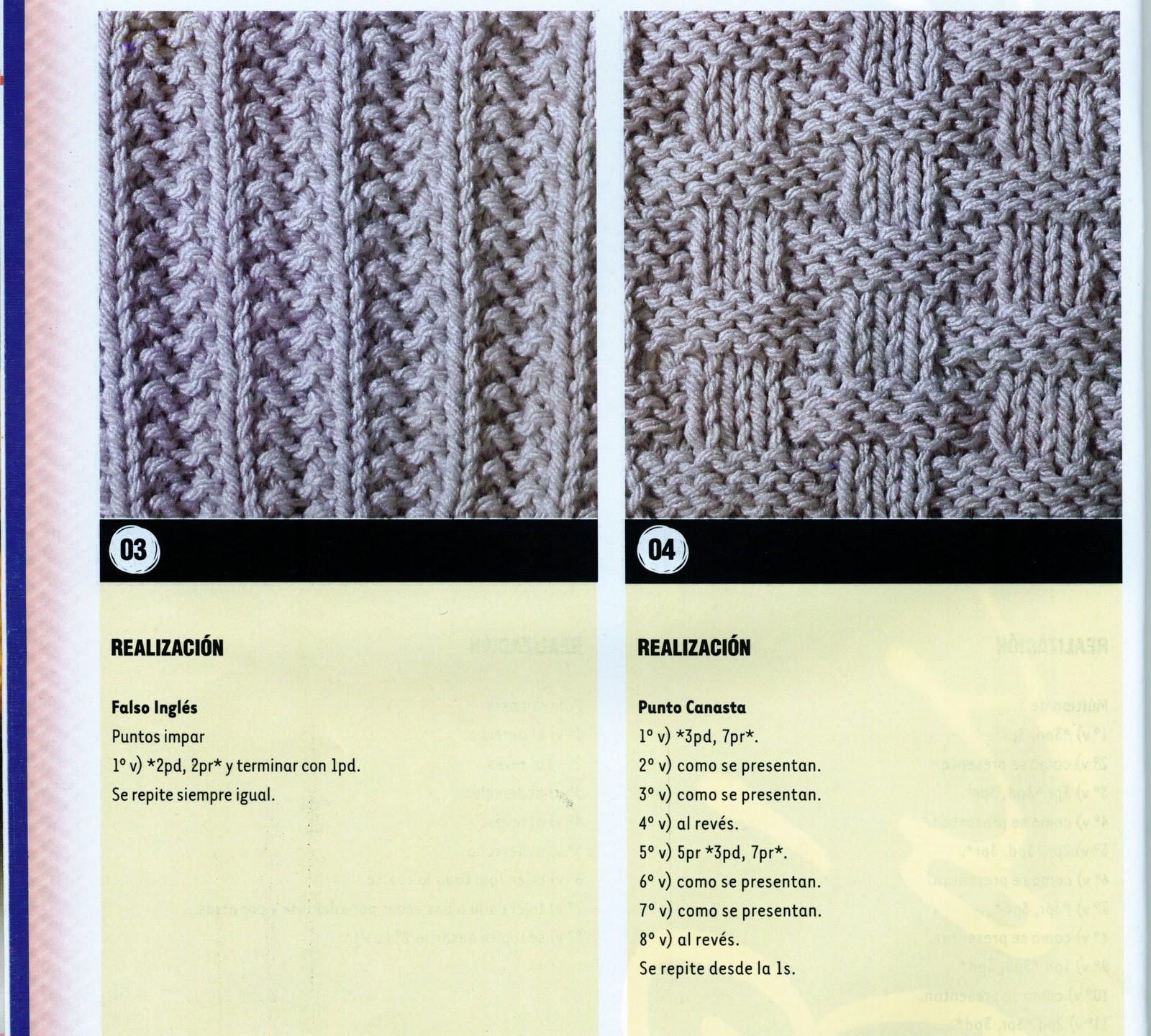 Crochet, dos agujas, tunecino, telar y más........: BIBLIOTECA DE ...