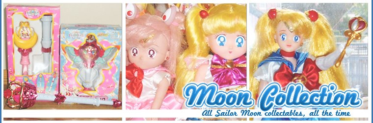 Moon Collection - An in-depth look into the merchandise of Sailor Moon