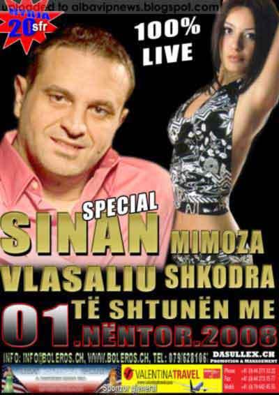 Sinan Vllasaliu & Mimoza Shkodra ne Boleros Club