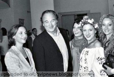 James Belushi Albania Fashion Week 2008
