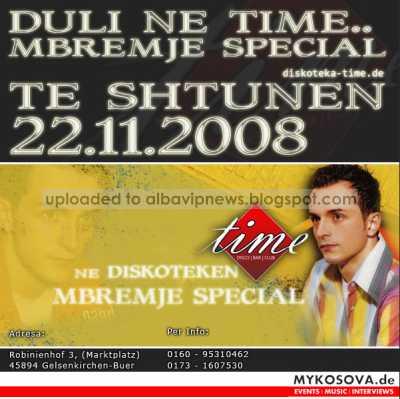 Diskoteka Time 22 nentor 2008