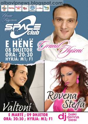 Space Club 8 n 9 Dhjetor