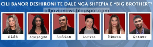 Big Brother Albania 2 Te Nominuarit Java 6