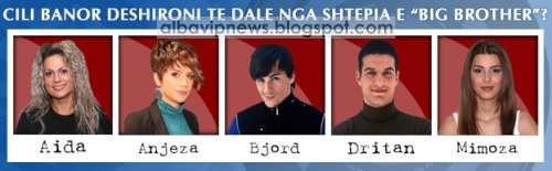 Nominimi 8 Big Brother Albania 2