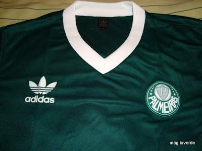 e62102b7de Maglia Verde  Camiseta Adidas Palmeiras Vintage
