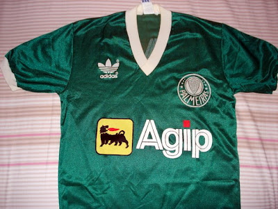 Maglia Verde  A camisa Palmeiras-Agip c0795a7a988d0