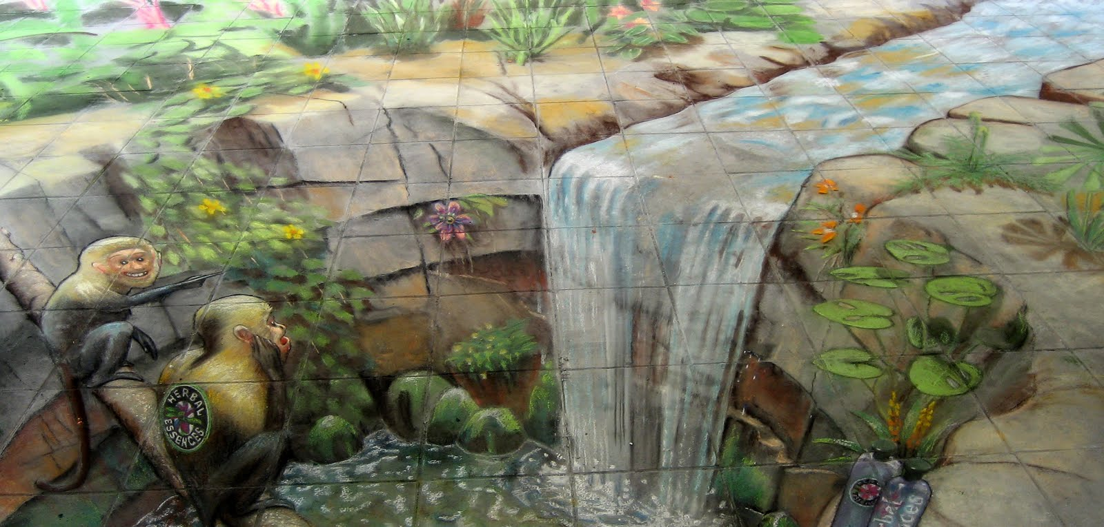All graphical street art julian beever part 3 - Arte en el piso 3d ...