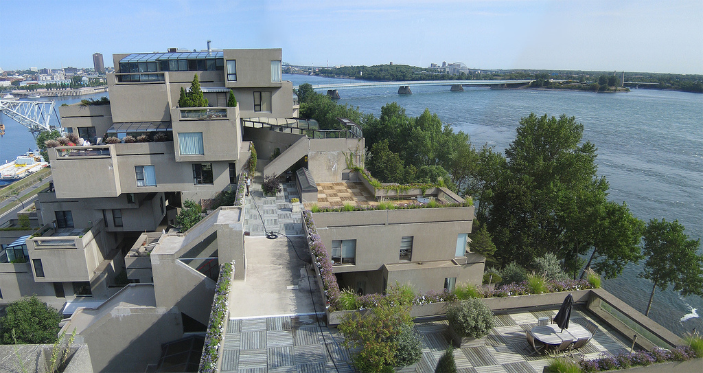 All Graphical: Habitat 67 (Montreal, Quebec, Canada)