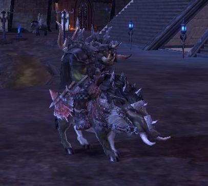 Mounts of war greenskins for Warhammer online ror artisanat