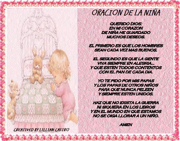 Oracion De La Virgen