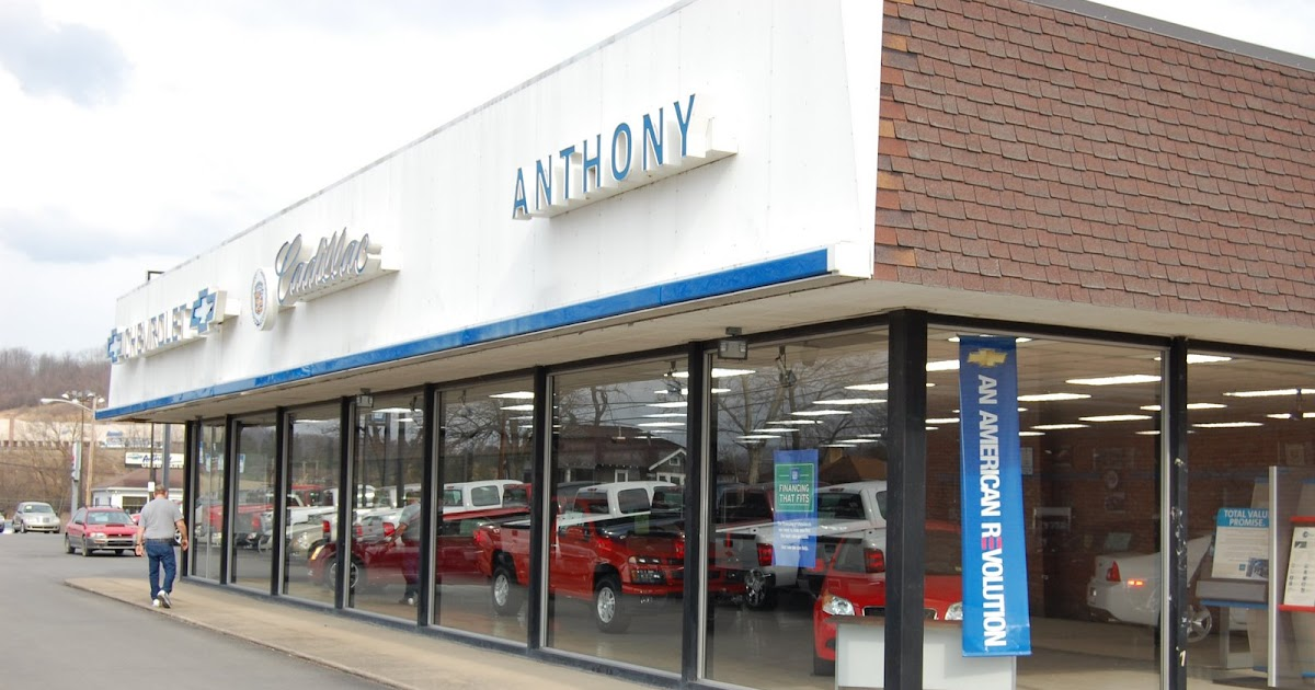 anthony chevrolet cadillac in fairmont wv morgantown. Black Bedroom Furniture Sets. Home Design Ideas