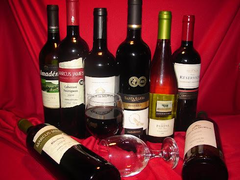 Nossa Carta de Vinhos