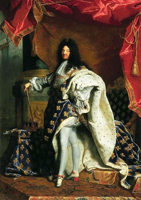 Hyacinthe Rigaud, Louis XIV