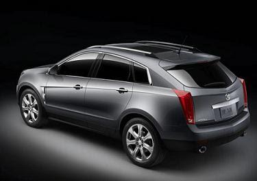 2010 Cadillac SRX Black