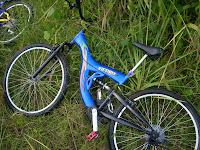 basikal biru