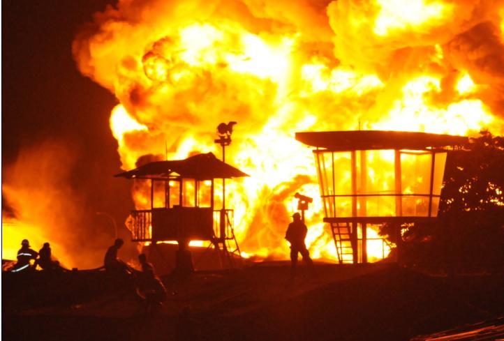 Foto Ilustrasi Kebakaran