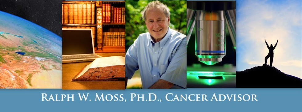 Ralph W. Moss, Ph.D., Cancer Advisor