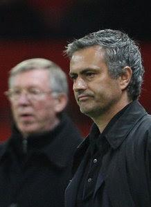 Fergie and Mourinho