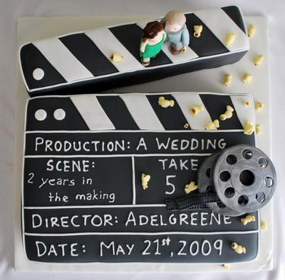 Clapper Board. Great idea! The Alien Movies