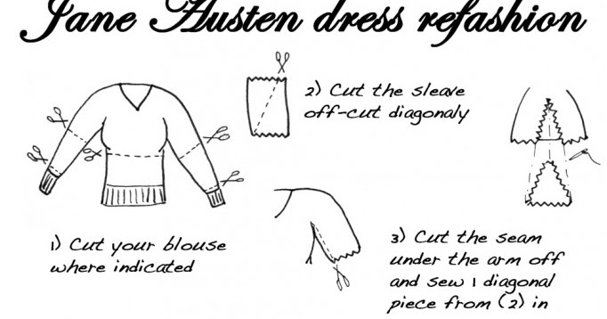 how to make a jane austen dress